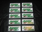 Junior Mints. Available to buy online in Australia from http://www.moolollybar.com.au. To go there click on this photo!