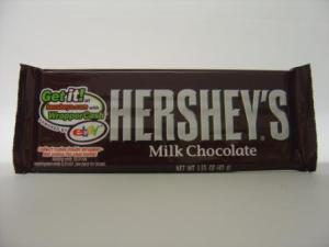 Hershey Milk Chocolate. Available to buy online in Australia from http://www.moolollybar.com.au. To go there just click on this photo!