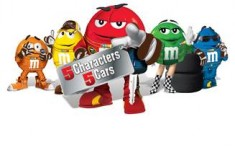 M&M'S MAKES RACE DAY MORE FUN WITH NEW 5 CHARACTERS