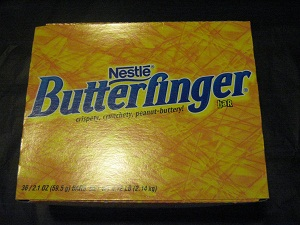 Butterfinger. Available to buy online in Australia from Moo-Lolly-Bar. To go there just kick on this photo!