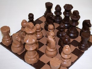 Chocolate chess set makes the list of the most amazing objects