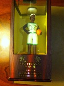 Chocolate Figurine of Paul Pierce