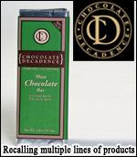 Chocolate Decadence Recalls Products