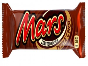 Mars Triple Choc. A New Triple Chocolate Treat from Mars Bars