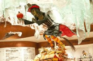 Chocolate Witch on display at the Bellagio in Las Vegas