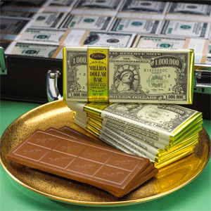 Buy Bulk Barton's Million Dollar Bar Online at Moo-Lolly-Bar Australia