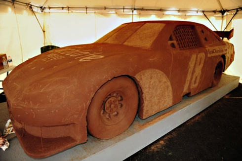 Life Size Chocolate Car