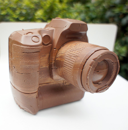 You can buy this chocolate camera for $500